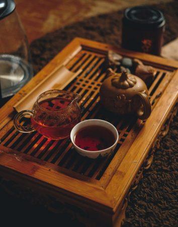 theetafel zwarte thee